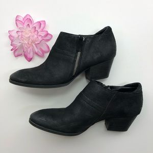 Franco Sarto booties black